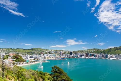 Wellington in New Zealand