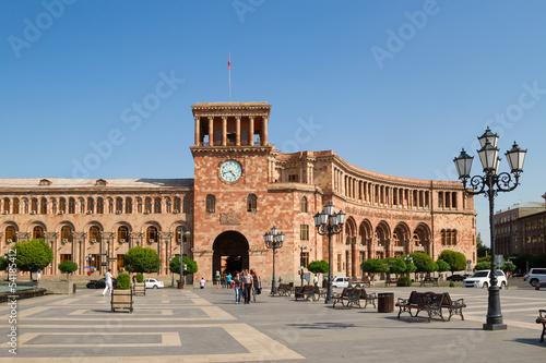 Fotografia Buildings on a main square of Yerevan, Hraparak