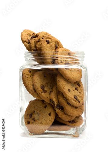 Fotografija chocolate cookie jar