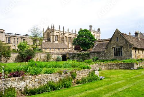 Carta da parati Christ Church War Memorial Gardens, Oxford, England