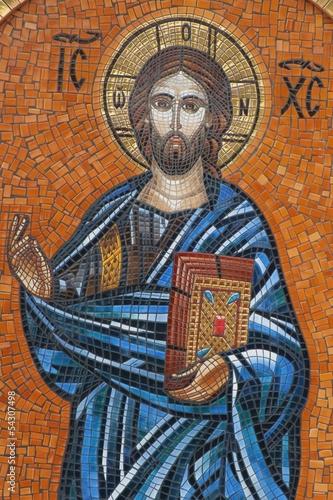 Mosaic of Jesus Christ Fototapeta