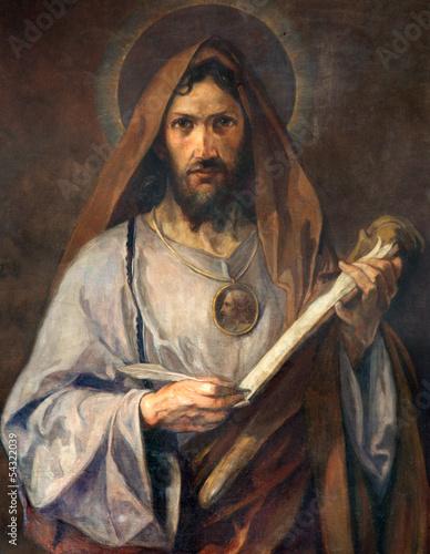 Fototapeta premium Wiedeń - Malowanie apostoła świętej Judy Tadeusza