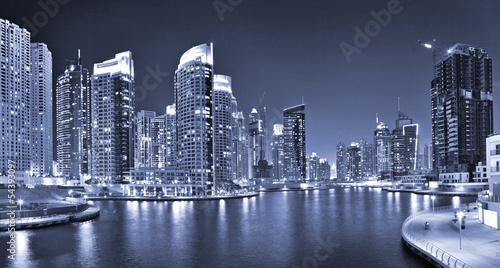 DUBAI, UAE - OCTOBER 23: View of the region of Dubai - Dubai Mar #54393097