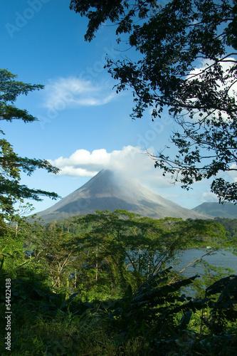 Arenal Volcano, Costa Rica Fototapete