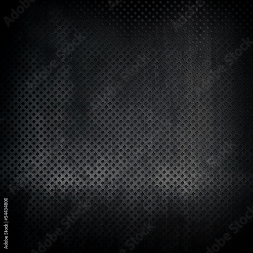 Fotografie, Tablou black metal texture background