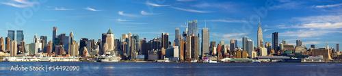 Obraz na płótnie Architektura Manhattanu w Nowym Jorku