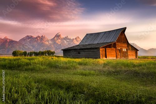 Obraz na plátně T. A. Moulton Barn