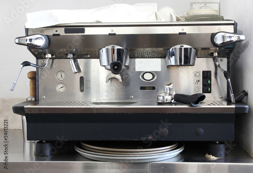Fotografia, Obraz Professional coffee machine