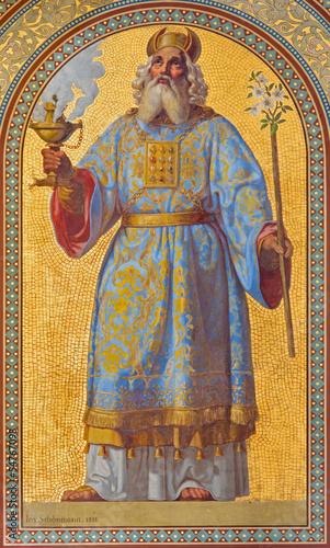 Tablou Canvas Vienna - Fresco of high priest Aron in Altlerchenfelder church