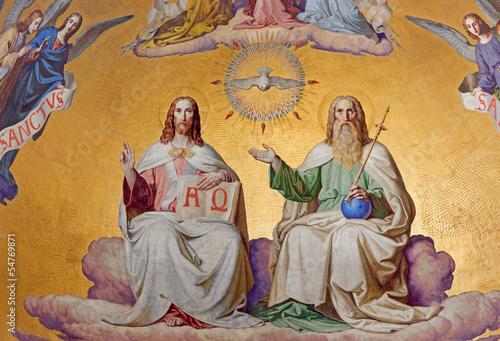 Fototapeta premium Wiedeń - Świętej Trójcy w kościele Altlerchenfelder