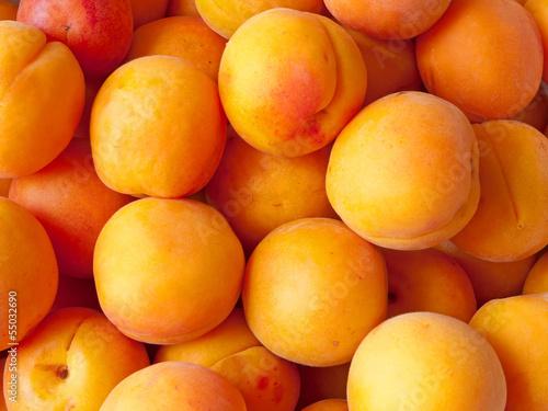 Photo Fresh ripe apricots