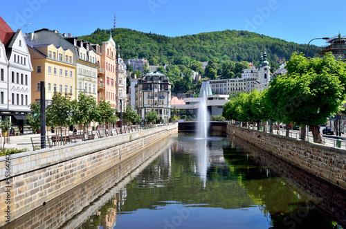 Obraz na plátně Karlovy Vary (Carlsbad)