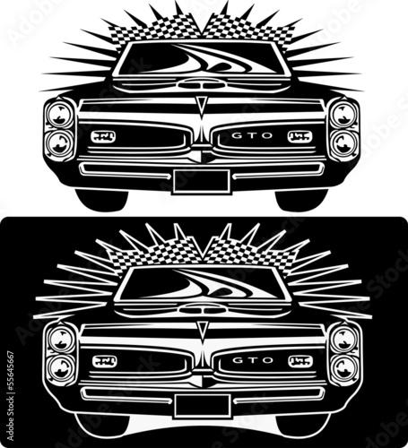 Obraz na plátně masterfitness-car