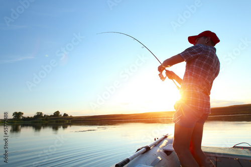 Canvas-taulu Fishing