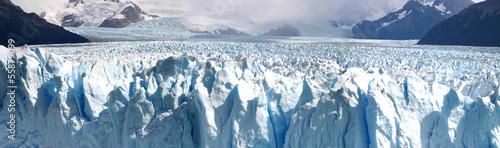 Canvastavla Panoramic view of the Perito Moreno Glacier in Patagania