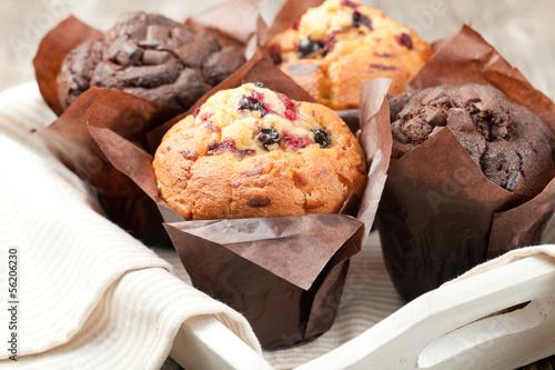 Carta da parati muffins