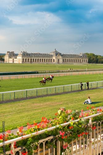 Fotografia Horserace in Chantilly