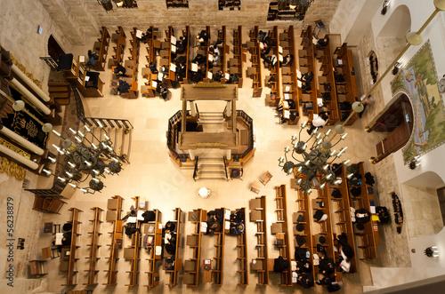 Obraz na płótnie the Hurva synagogue in Jerusalem