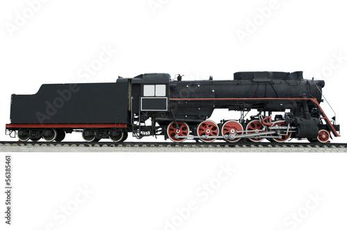 Canvas Print Old locomotive