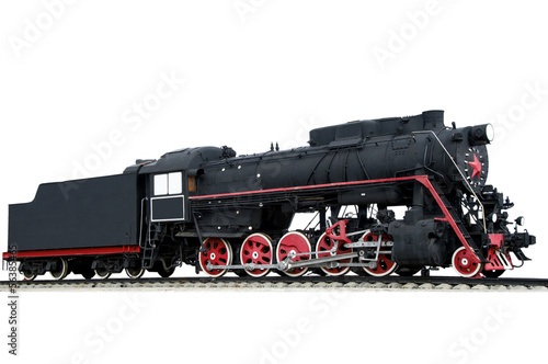 Wallpaper Mural Old locomotive