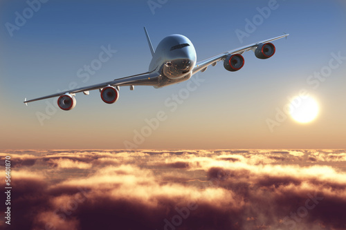 Photo Passenger plane