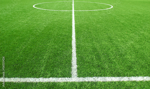 Fototapeta premium Piłka nożna stadion piłkarski stadion trawa linii tło