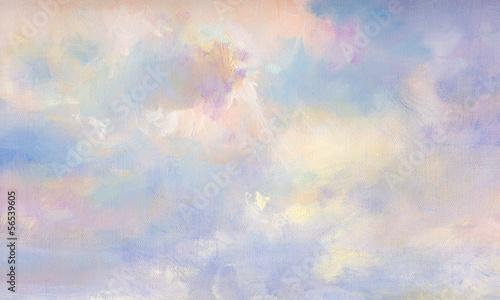 Canvas himmel malerei leinwand