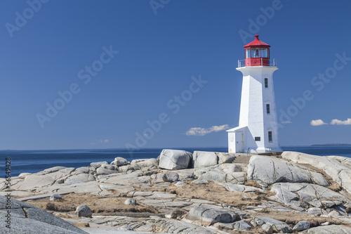Fotografia Peggy's Cove lighthouse, Nova Scotia