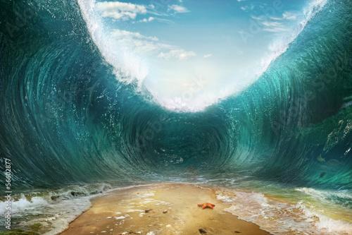 Fototapeta Moře jsou pootevřené