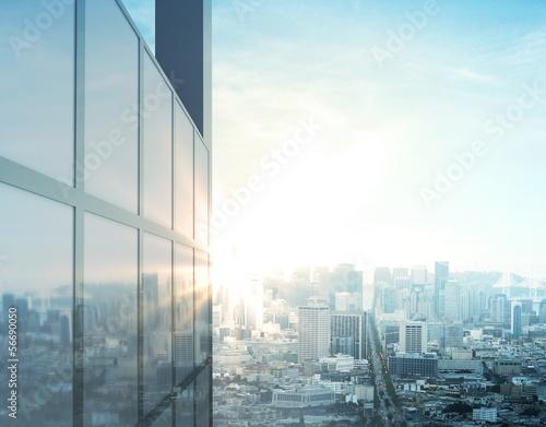 Foto modern city