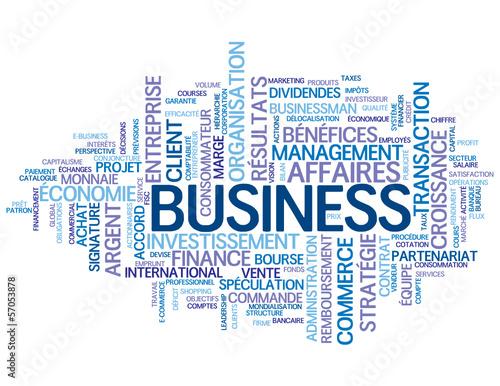 Nuage de Tags BUSINESS (affaires argent commerce vente finance) #57053878