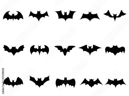 Fotografering bat icons