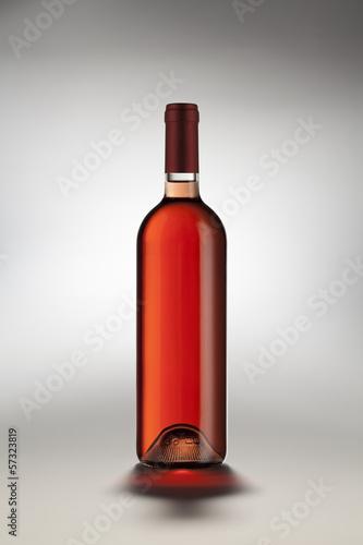 Bottiglia Vino Rosato Fototapete