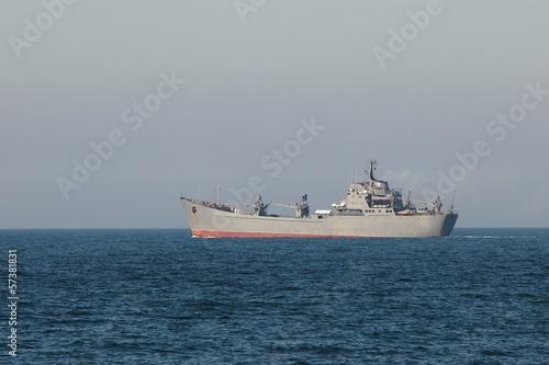 Stampa su Tela Military Ship