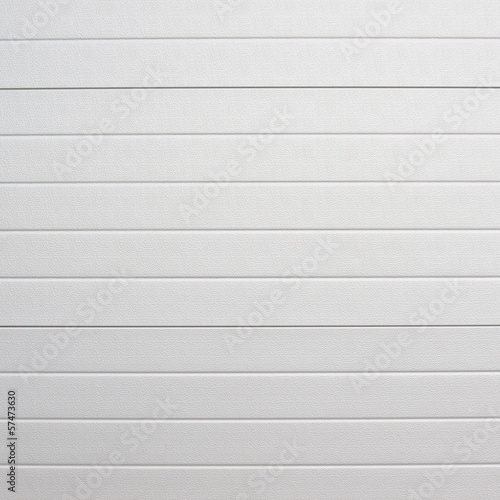 Photo White plastic wall sheathing cover
