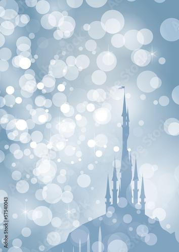 frosty palace Fototapet