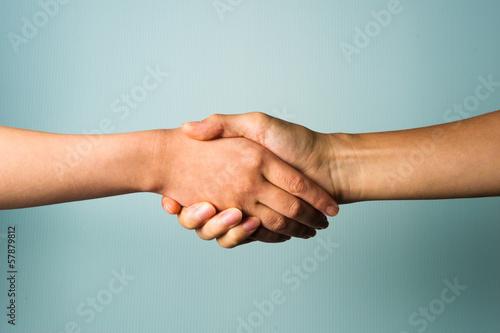 Fotografia 二人の握手