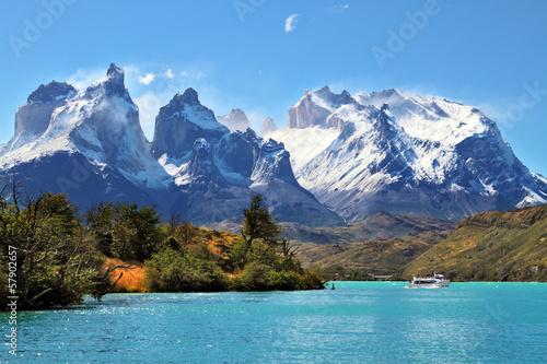 Fotografie, Tablou National Park Torres del Paine, Chile