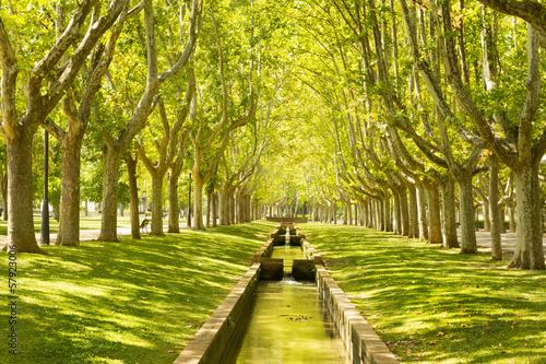 Park from Zaragoza, Labordeta
