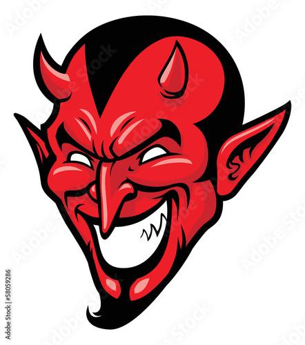 Valokuva devil head mascot