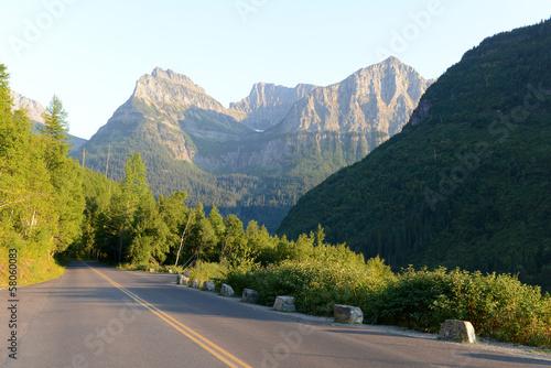 Fotografie, Obraz Glacier National Park au USA