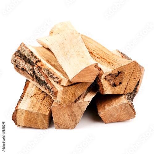 Obraz na plátne stack of firewood