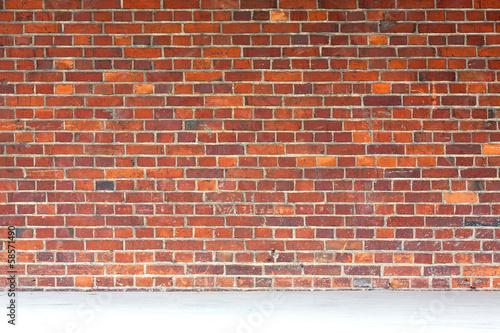 Fototapeta premium Tło starej murowanej ściany