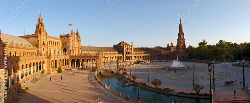 Fototapeta premium Hiszpania - Sewilla, Plaza de Espagna