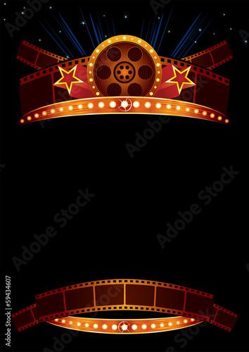 Obraz na plátne Movie poster