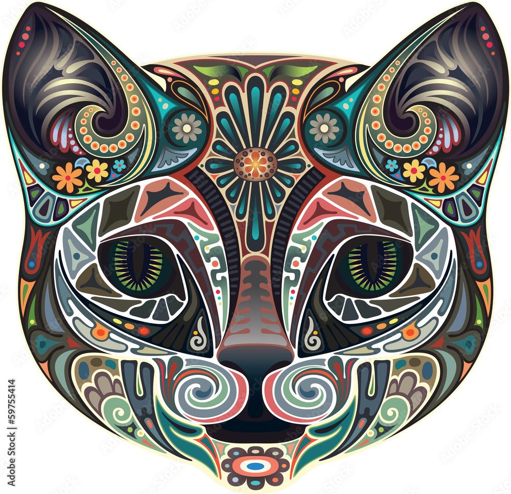 Kot z zielonymi oczami <span>plik: #59755414 | autor: IraGreen</span>