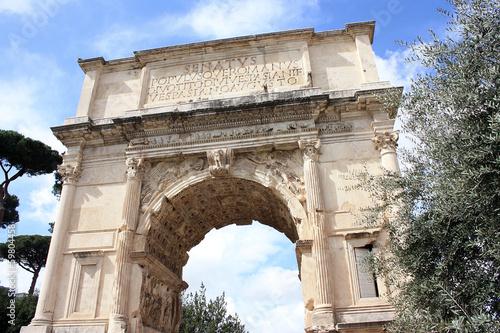 Obraz na płótnie Rome, Arch of Titus