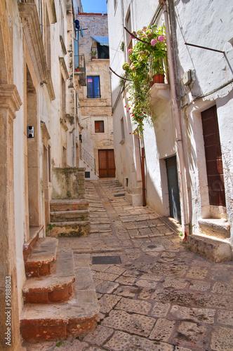 Fototapeta premium Alejki. Putignano. Puglia. Włochy.