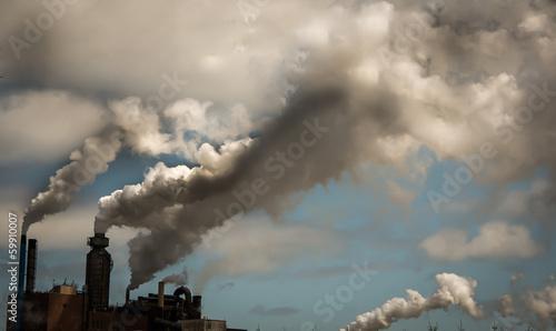 Foto Smokestacks