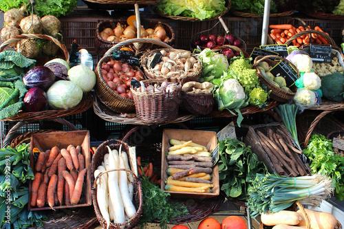 Photo France - vegetable market